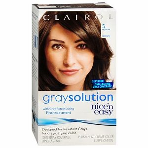 Clairol Natural Instincts Haircolor, Roasted Chestnut Dark Warm Brown