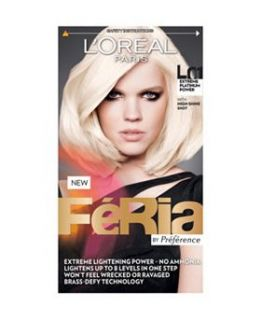 LOreal Feria Extreme Platinum Power Hair Dye L01   Boots