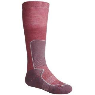 Lorpen Junior Ski Race Socks   2 Pack, Merino Wool, Over the Calf (For
