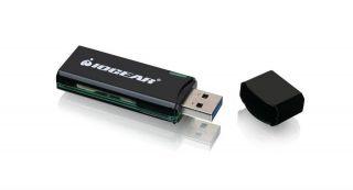 Iogear USB 30 Flash Card Reader by Office Depot