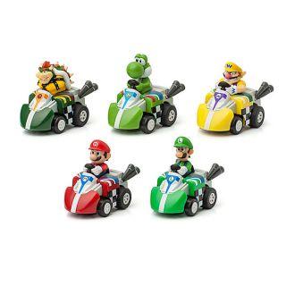 Mario Kart Racers Pull Back