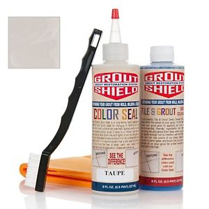 Grout Shield Color Seal Grout Restoration Kit