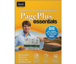 Buy Serif PagePlus Essentials, create unique page designs, drag and
