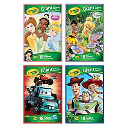 Crayola Giant Coloring Book Disney Assorted Titles 13 12 x 19 12 Pad