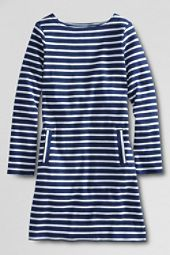 Lands End   Girls Long Sleeve Sailor Dress customer reviews