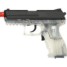 HK P30 AEG Clear Electric Airsoft Pistol