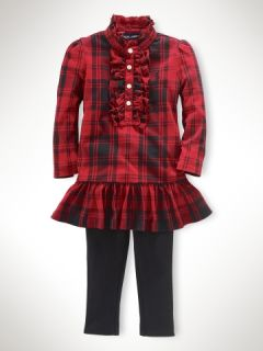 Plaid Tunic & Legging Set   Sets Infant Girl (9M 24M)   RalphLauren