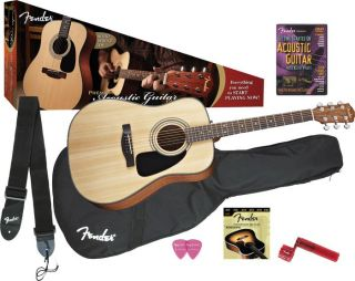Fender DG 8S Acoustic Guitar Value Pack  Musicians Friend