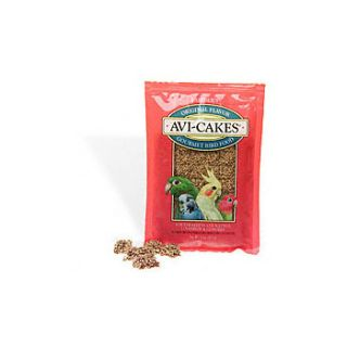 Home Bird Treats Lafebers Original Flavor Avi Cakes for Parakeets