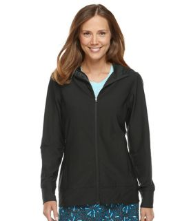 Fitness Top, Full Zip Hoodie Tees and Knit Tops   at L