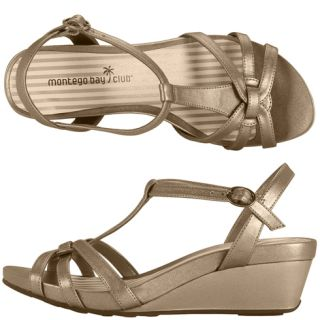 Womens   Montego Bay Club   Womens Solar Wedge Sandal   Payless Shoes