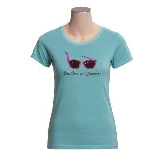 Hatley Jersey Shirt   Short Sleeve (For Women) in Shades Of Summer
