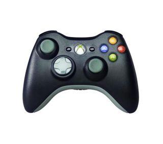 MICROSOFT Black Wireless Controller   for Xbox 360 Deals  Pcworld