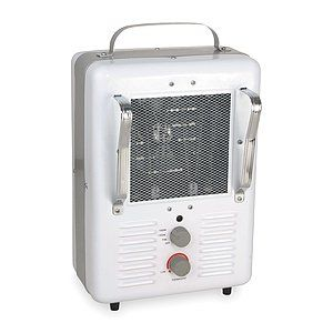 DAYTON ELECTRIC MANUFACTURING CO. Electric Space Heater,Fan Forced