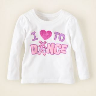 baby girl   love dance graphic tee  Childrens Clothing  Kids