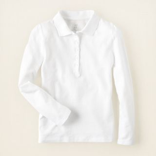girl   school uniforms   long sleeve tops   puff sleeve uniform polo