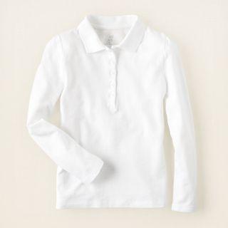 girl   school uniforms   long sleeve tops   puff sleeve uniform polo
