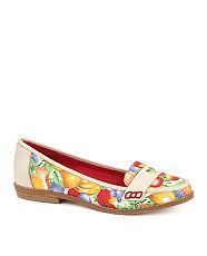 null (Multi Col) Shellys Beatnik Fruit Loafers  244748899  New Look