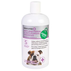 Pet Shampoo » GNC Pets Anti Bacterial Anti Fungal Shampoo