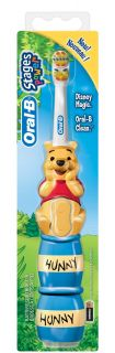 Oral B Stages 2 Power Toothbrush   My Friends Tigger & Pooh