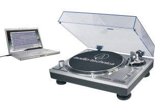 Audio Technica AT LP120 Direct Drive Turntable with USB