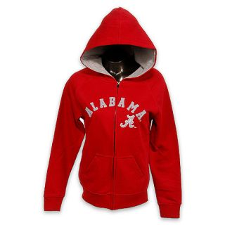 FinishLine   Womens Alabama Crimson Tide NCAA Full Zip Fleece