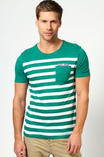 Mens Clothing  T shirts & Vests  Chambray Detail