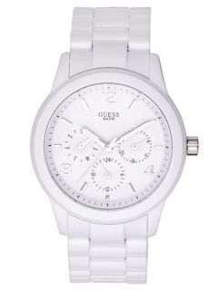 Guess White Mini Spectrum Ladies Watch Very.co.uk