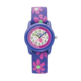 Timex® Kids Time Teacher Watch, Pink Flowers      Canada