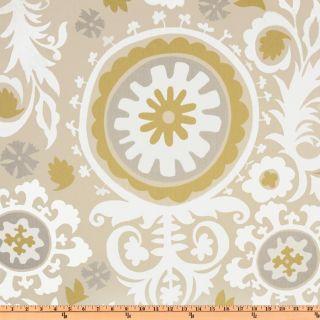 Premier Prints Suzani Twill River Rock   Discount Designer Fabric