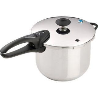 Presto 6 Qt. S/S Pressure Cooker Delx in Slow Cook Stock Pots  JR