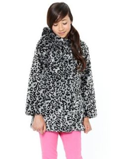 Freespirit Girls Hooded Faux Fur Coat  Littlewoods