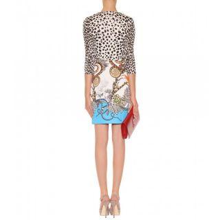 myheresa   Robero Cavalli   HERA PRIN DRESS   Luxury Fashion