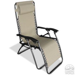 Infinity Zero Gravity Chair   Beige   Caravan Canopy 80009000150
