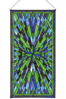 Starburst Art Glass   Art Glass Windows   Home Decor  HomeDecorators
