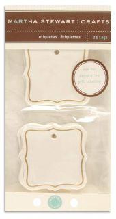 Martha Stewart Crafts Tags Flourish   Discount Designer Fabric