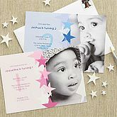 Personalized Birthday Party Invitation & Thank You Notes