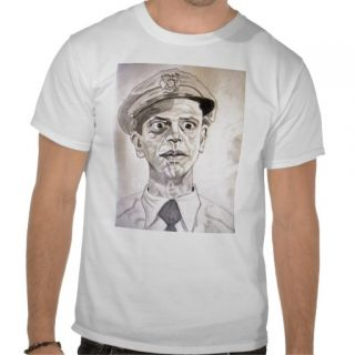 Barney Fife by Don Knotts T shirts  Zazzle.co.uk