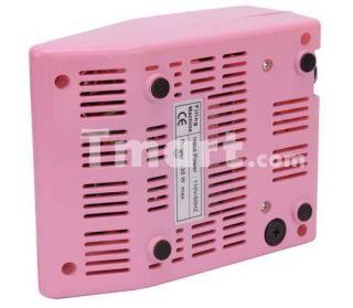 20000RPM Electric Nail Drill Machine Nail Art Manicure Pedicure Pink