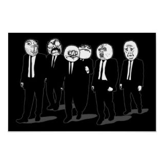 Rage Comic Meme Faces Walking. Me Gusta. Poster  Zazzle.co.uk