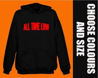 ALL TIME LOW Hoodie BNWT metal rock hoody S   2XL stocking filler
