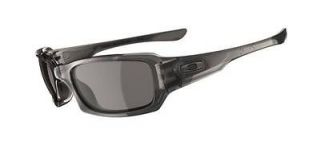 Oakley Fives Squared Sunglasses Grey Smoke w/Warm Grey Brand New