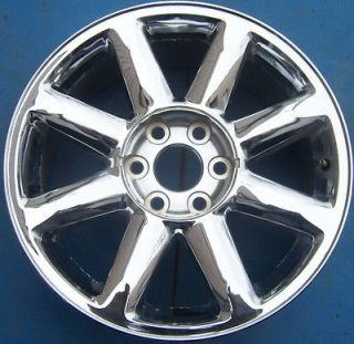 2007 2012 GMC YUKON XL SIERRA DENALI 1500 PICKUP 20 OEM CHROME WHEEL