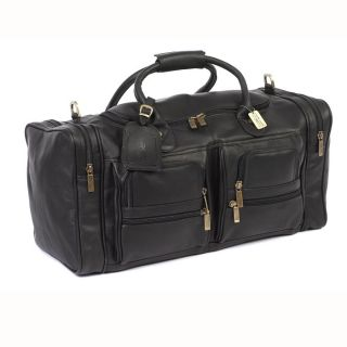 Cowhide Leather Executive Duffel Bag at Brookstone—Buy Now