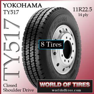 tires Yokohama RY023 11R22.5 tire semi truck tires 11r225 11225 truck