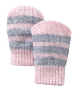 Mothercare Magic Grey And Pink Mitts   girls gloves   Mothercare