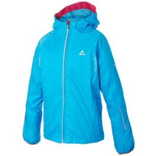 Dare2B Youths Blue Floodlight Waterproof Jacket