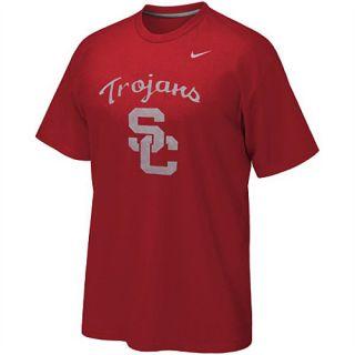Nike USC Trojans Mens Reflective Logo T Shirt
