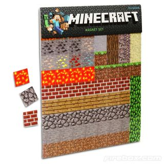 Minecraft Magnet Set   buy at Firebox