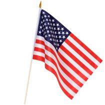 Bulk Mini United States Flags, 3 ct. Packs at DollarTree